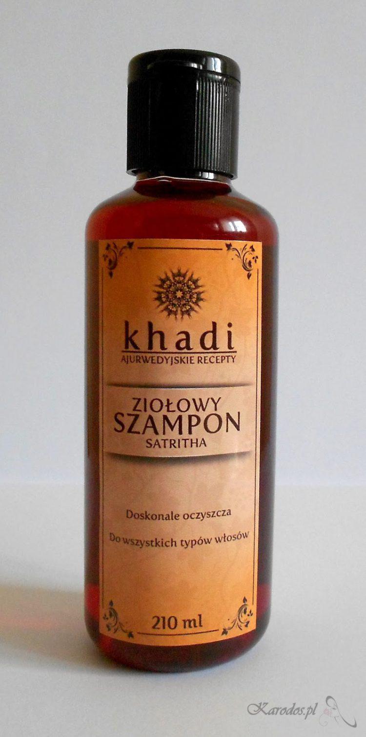 Khadi, Ziołowy Szampon Satritha