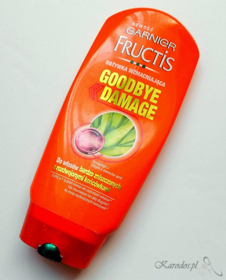Garnier Fructis, Goodbye Damage, Odżywka wzmacniająca