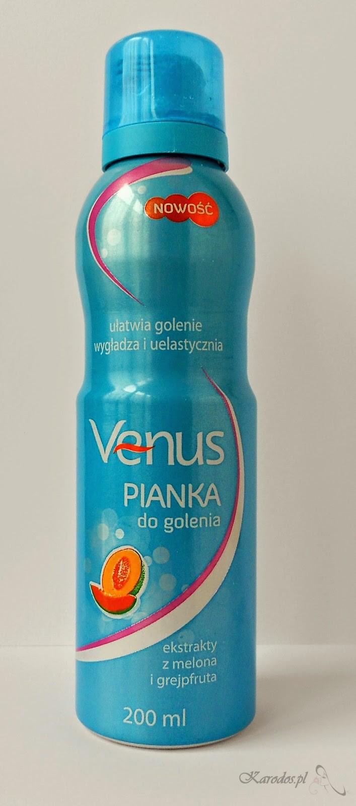 Pharma CF, Venus, Pianka do golenia dla kobiet (ekstrakty z melona i grejpfruta)