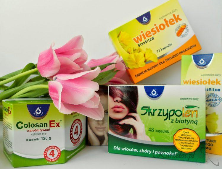 Wzmocnij się po zimie - suplementy diety Oleofarm