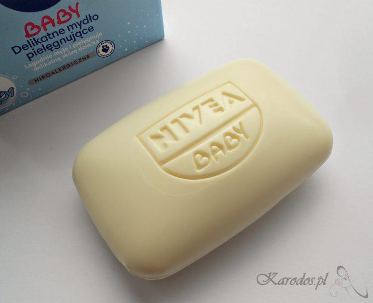 Beiersdorf, Nivea Baby, Delikatne mydło pielęgnujące - Mój ulubieniec do mycia twarzy