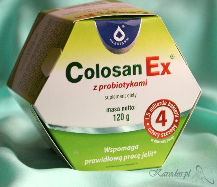 Colosan Ex z probiotykami na prawidłową pracę jelit