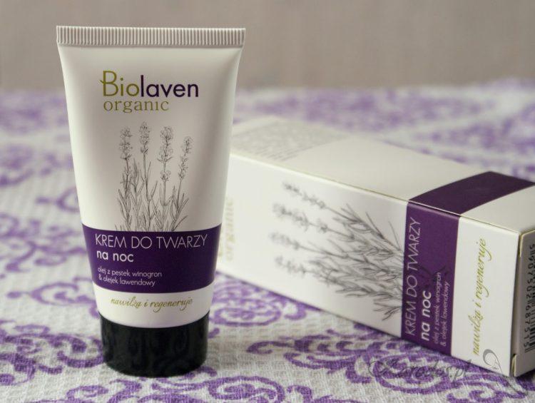Sylveco, Biolaven Organic, krem do twarzy na noc