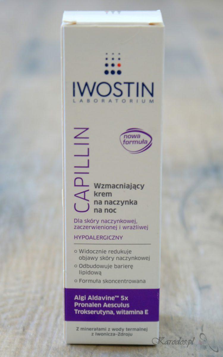 Iwostin, Capillin, Wzmacniający krem na naczynka na noc