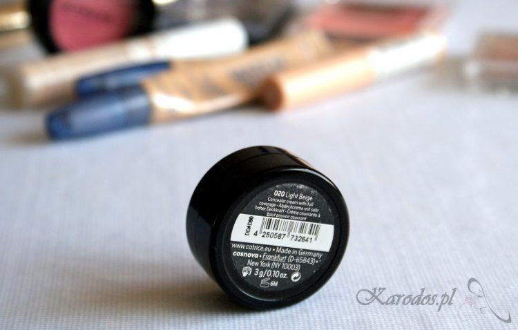 Ulubiony korektor do twarzy, czyli Catrice Camouflage Cream (020 Light Beige)