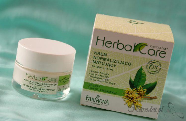 Farmona, Herbal Care, Krem Normalizująco-Matujący