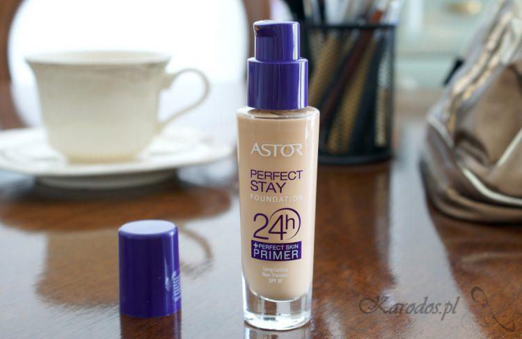Astor, Perfect Stay 24h+Primer, Podkład do twarzy (203 Peachy)