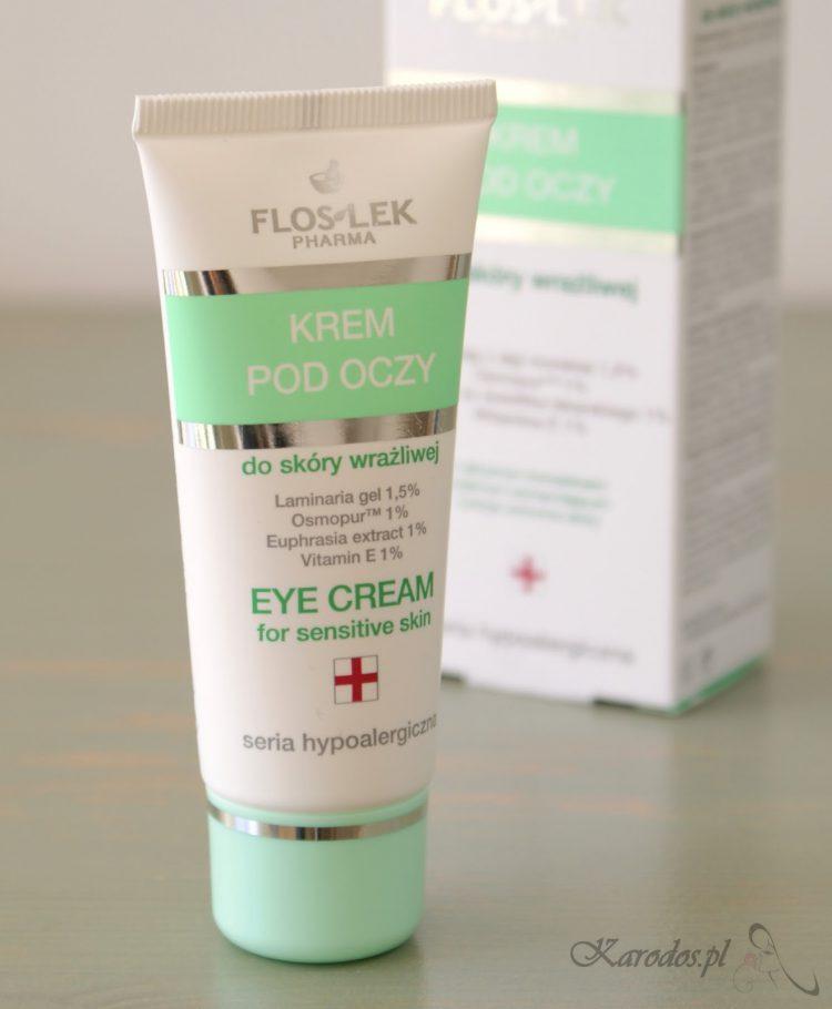 Flos Lek, Krem pod oczy do skóry wrażliwej (seria hypoalergiczna)