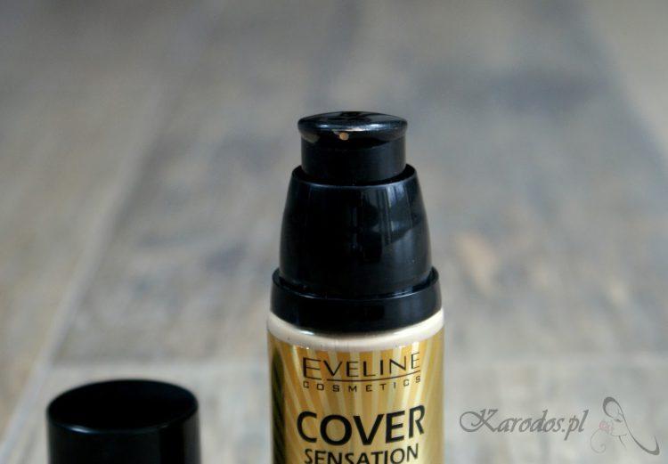 Eveline, Cover Sensation – Długotrwały podkład kryjący (104 nude)