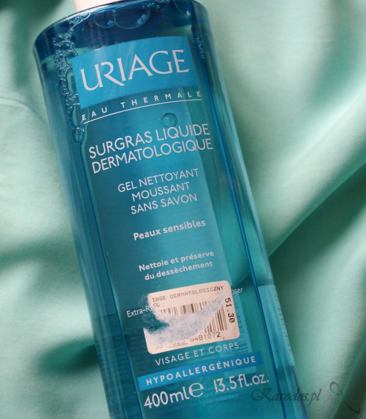 Uriage, Dermatologiczny żel do mycia twarzy i ciała