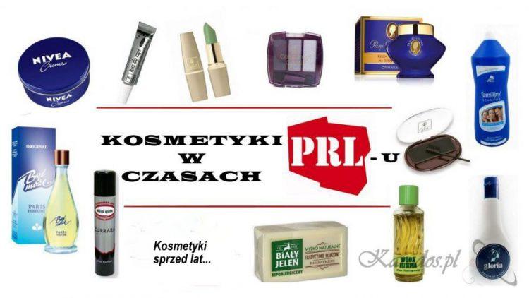 Kosmetyki w czasach PRL-u