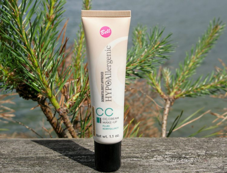 Bell, HYPOAllergenic CC Cream Make-Up, Fluid korygujący
