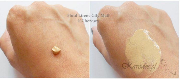 Lirene City Matt, Kultowy fluid (207 beżowy) - opinia