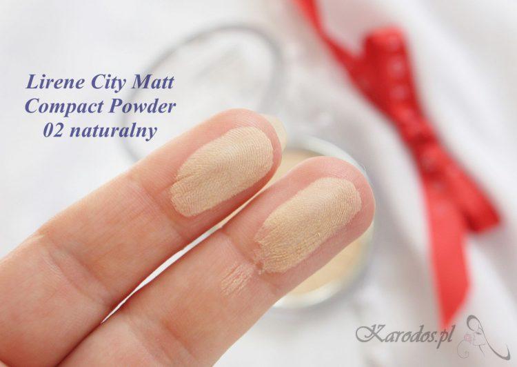 Lirene City Matt, mineralny puder matujący - opinia