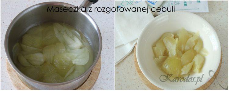 maseczka z cebuli