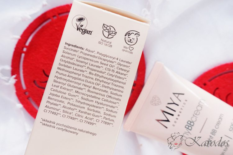 Miya Cosmetics, myBBcream, Lekki krem BB – opinia