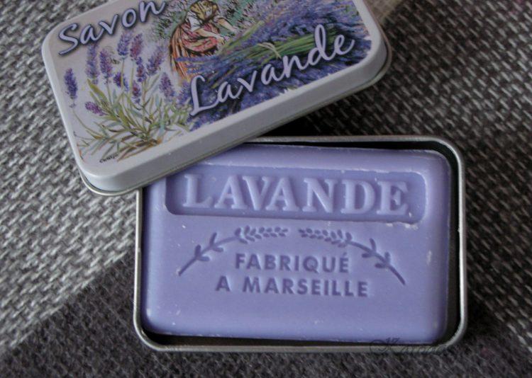Mydło marsylskie lawendowe