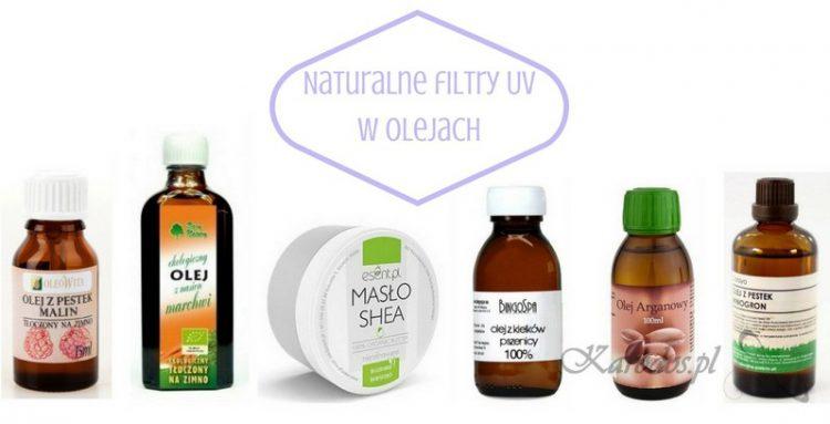 Naturalne filtry UV w olejach roślinnych