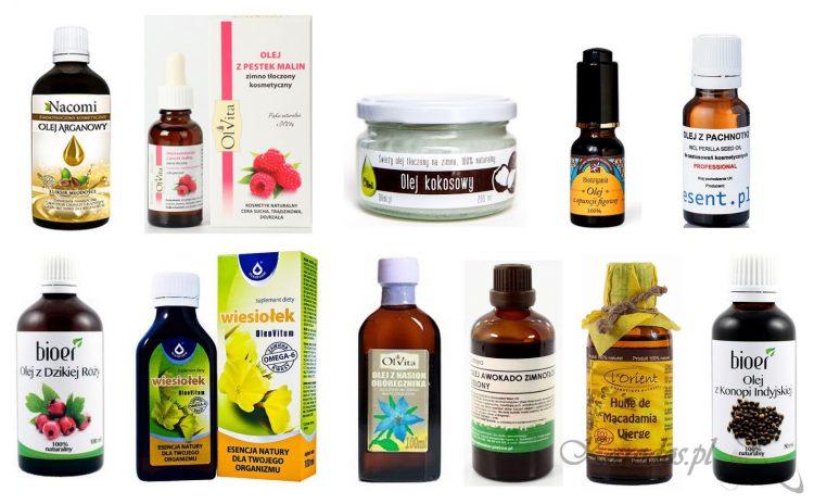 naturalne oleje na twarz