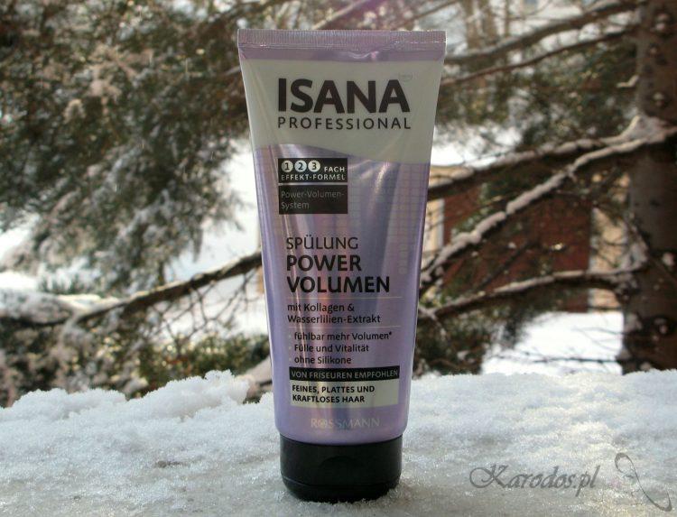 Isana, Professional Power Volumen, Odżywka do włosów delikatnych zwiększająca objętość