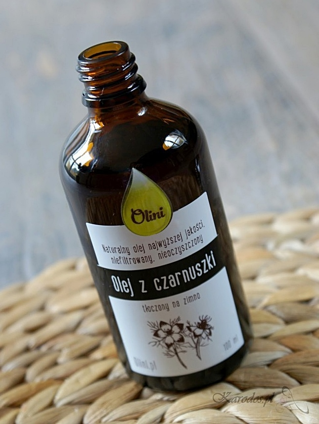 Olej z czarnuszki - naturalny kosmetyk do cery problemowej