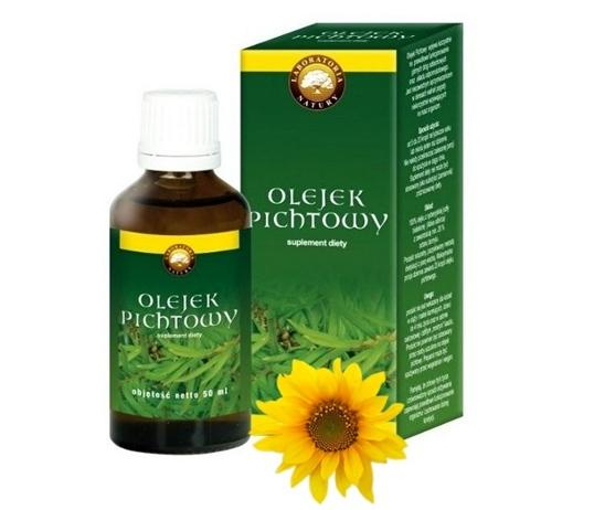 Olejek pichtowy - zastosowanie zewnętrzne (nafta pichtowa)