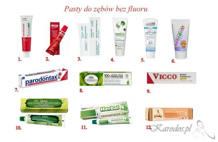 Szkodliwość fluoru w paście do zębów