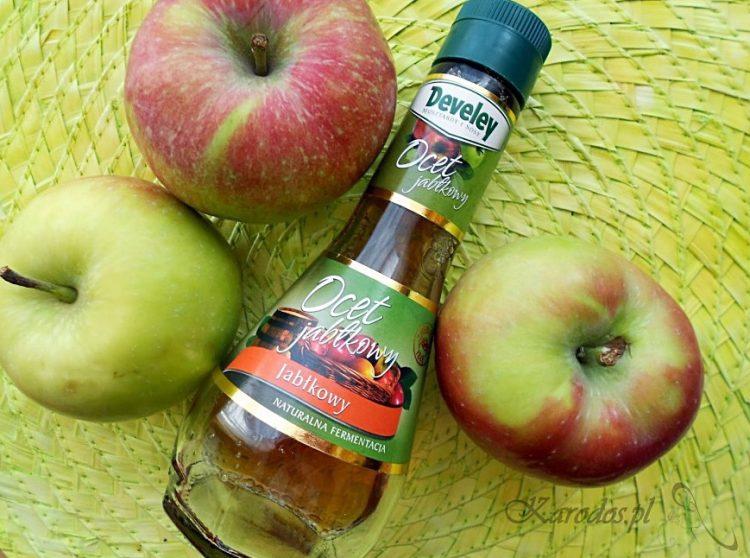 Płukanka z octu jabłkowego do włosów