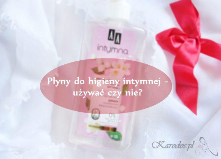 Płyny do higieny intymnej – używać czy nie?