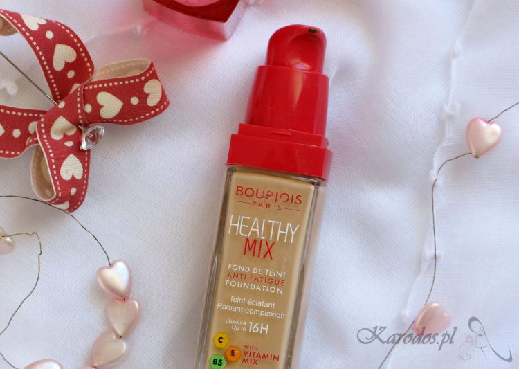 Podkład Bourjois Healthy Mix – opinia