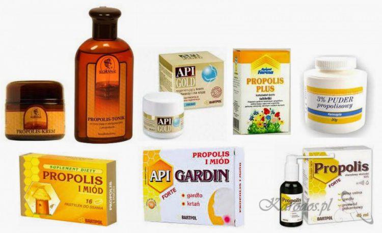 produkty z propolisem