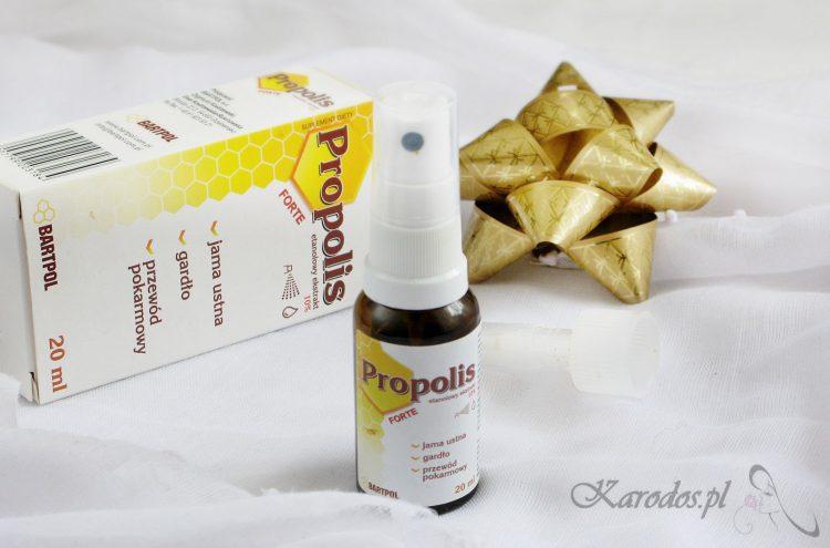 Propolis spray (aerozol) – zastosowanie