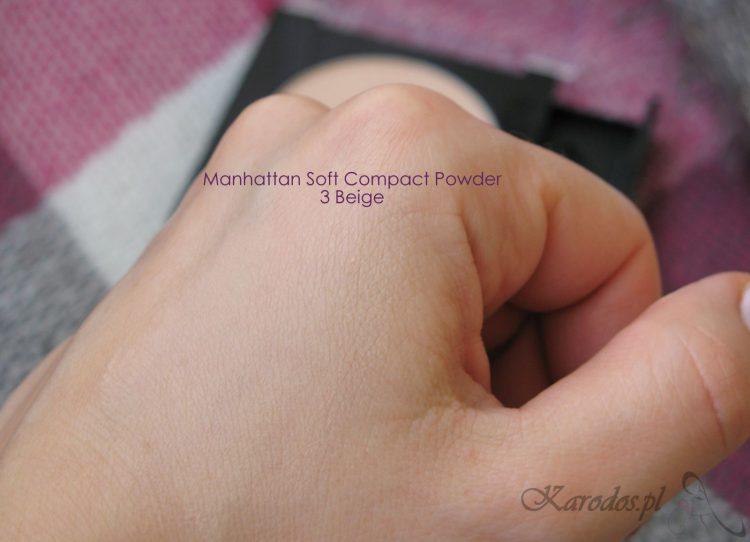 puder Manhattan Soft Compact 3 Beige