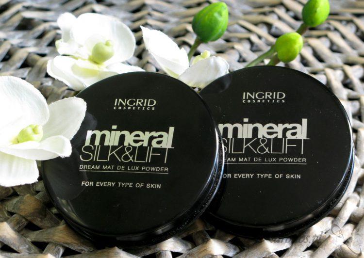 Verona, Ingrid, Mineral Silk&Lift, Puder matujący w kamieniu