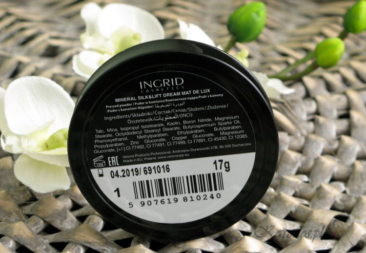 puder ingrid mineral silk&lift