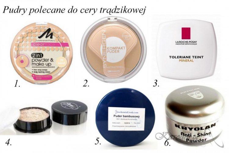 Kosmetyki do makijażu dla cery trądzikowej