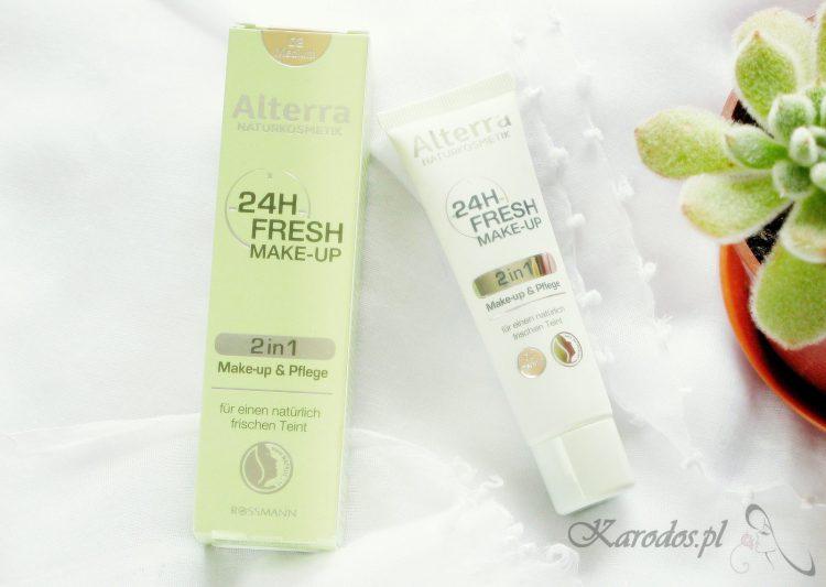 Podkład Alterra 24 Fresh Make-up - recenzja