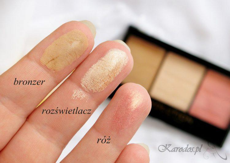 Makeup Revolution, Zestaw do konturowania – opinia