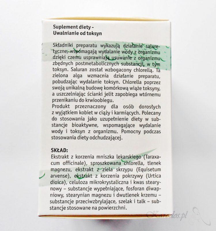 Vitana, Saluran z algami – suplement diety wspomagający oczyszczanie organizmu z toksyn