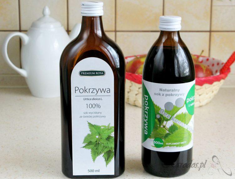 Sok z pokrzywy na wzmocnienie i oczyszczenie organizmu z toksyn