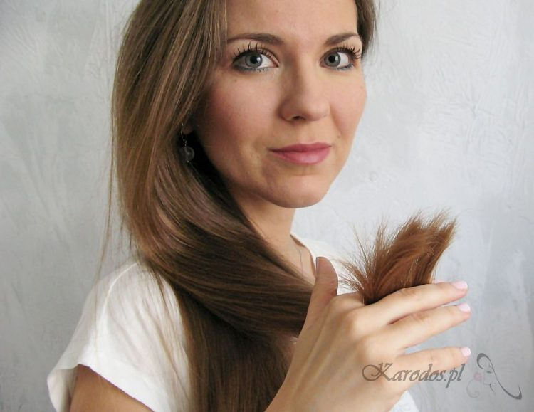 Sposoby na zdrowe końcówki włosów
