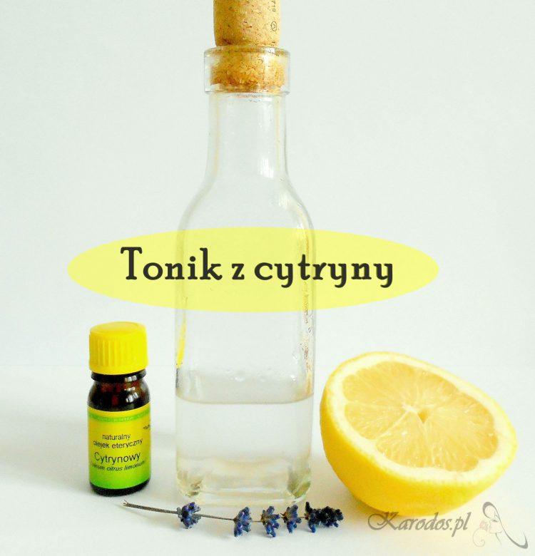 Tonik z cytryny - kosmetyczny HIT
