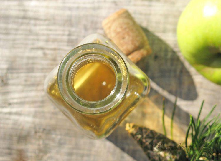 tonik z octu jablkowego na tradzik