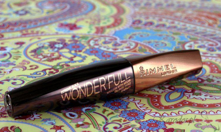 Rimmel, Wonder'Full Mascara, Tusz do rzęs z olejem arganowym