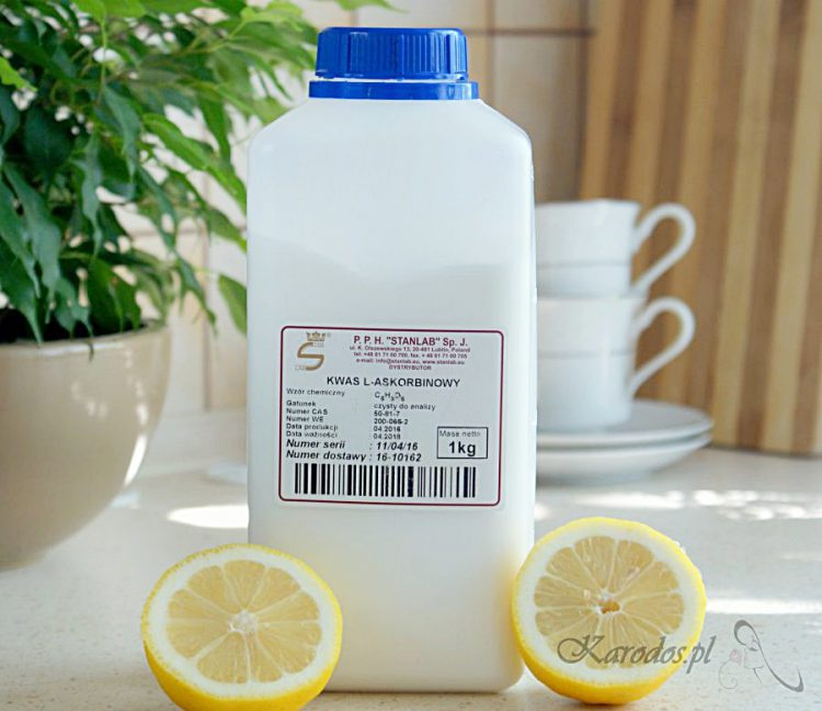 Witamina C lewoskrętna w proszku (kwas L-askorbinowy)